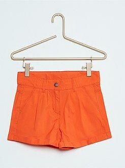 Short, pantacourt - Short droit en coton