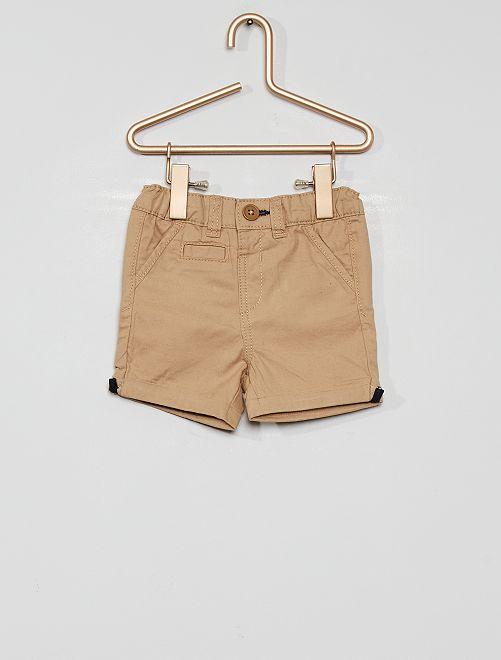 Short éco-conçu                                                                                                                             beige