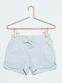 Fille 3-12 ans Short en coton