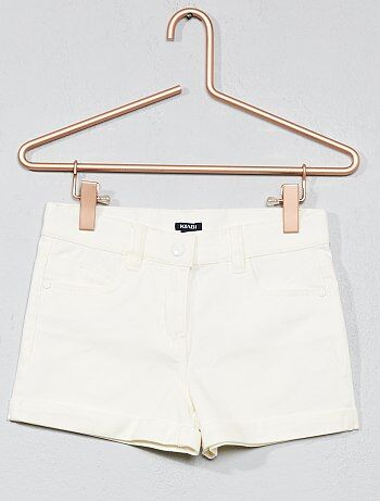 Short en coton stretch - Kiabi