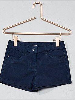 Fille 3-12 ans - Short en coton stretch - Kiabi