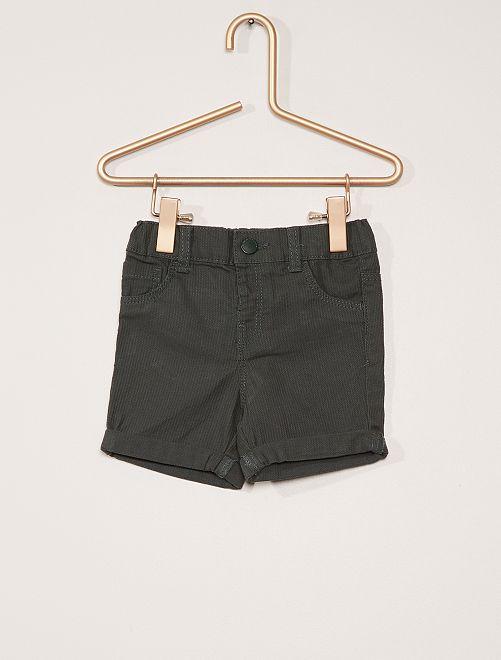 Short en coton                                         vert