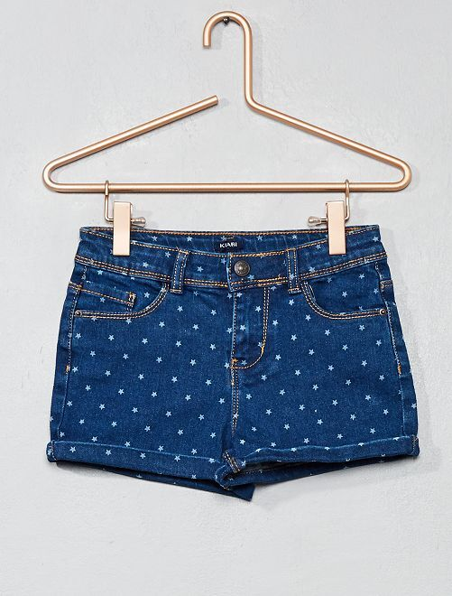 Short en denim                                                                             rinse