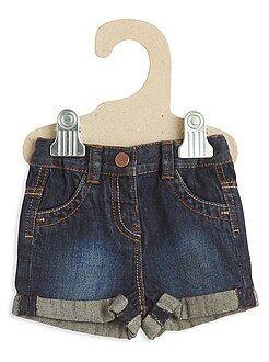 Short, bermuda - Short en jean