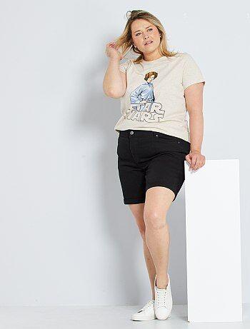 Short en jean Vêtements femme   taille 48   Kiabi