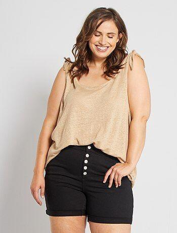 Short, bermuda Grande taille femme   taille 48   Kiabi