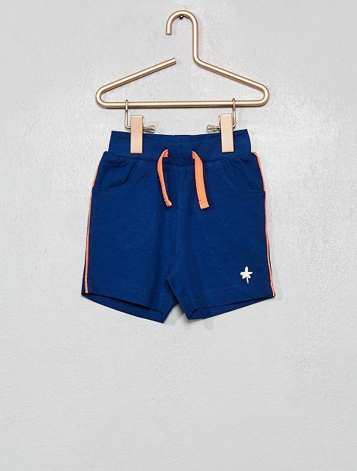 Short en jersey                             bleu