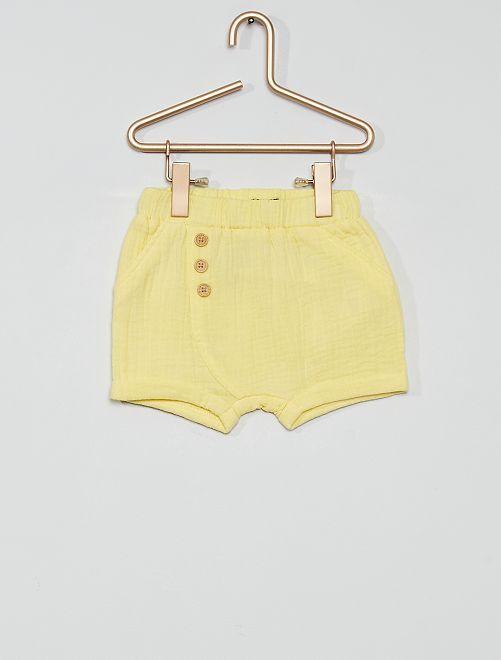 Short en lange éco-conçu                                         jaune lemon