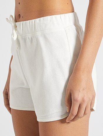 Short de sport Vêtements femme | blanc | Kiabi