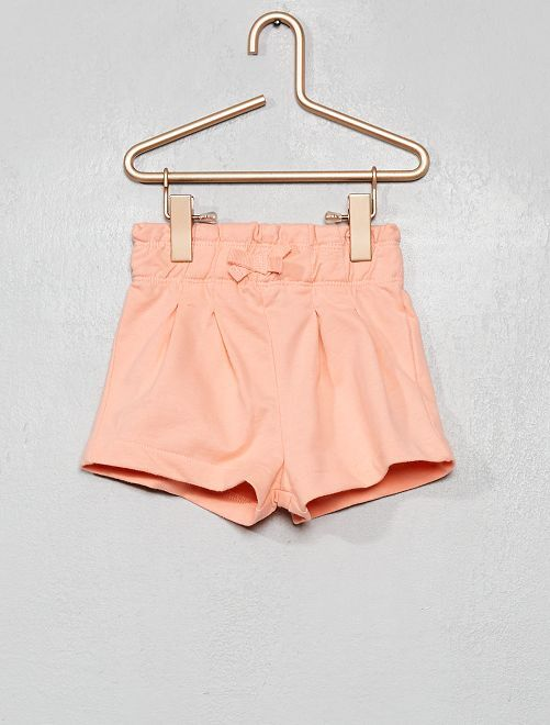 Short en molleton                                                                 rose saumon