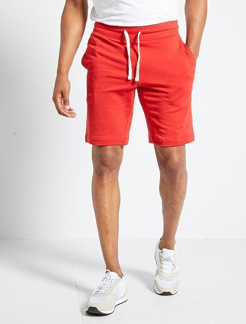 Short en molleton                                             rouge