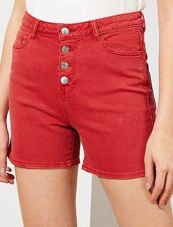 cd5b764521c932 Short femme, achat de bermudas pour femmes pas cher Vêtements femme ...