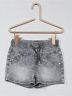 Short, bermuda - Short léger pur coton - Kiabi