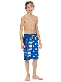 Garçon 10-18 ans Short long de bain