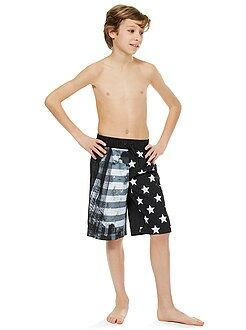 Garçon 4-12 ans Short long de bain