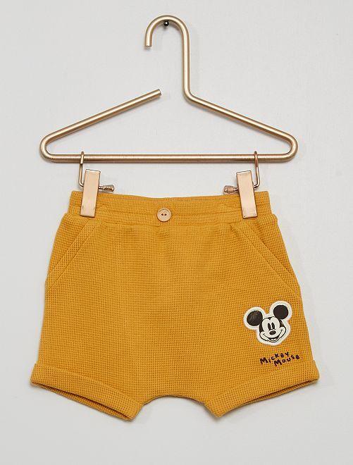 Short 'Mickey'                             jaune