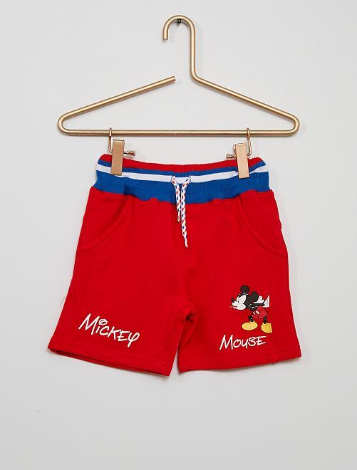 Short 'Mickey'                                         rouge
