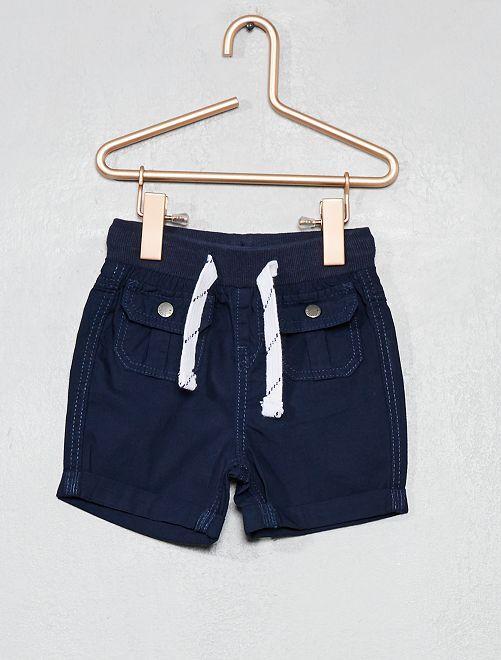 Short multipoches                                                                 bleu marine Bébé garçon