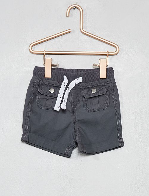 Short multipoches                     gris