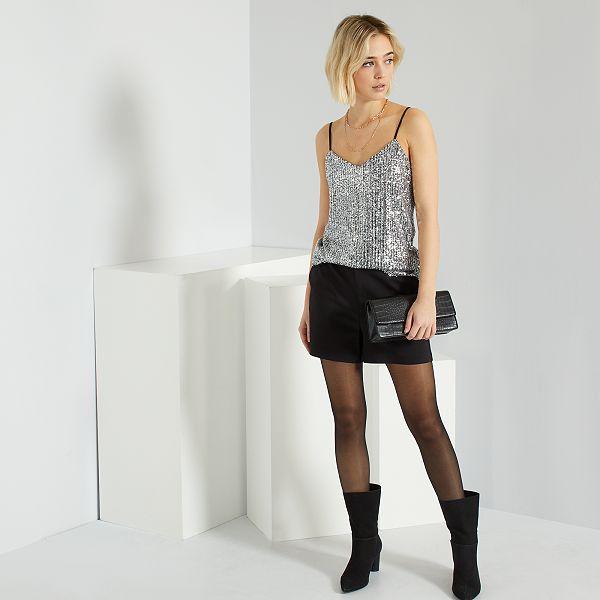 Short taille haute Femme - Kiabi - 12,00€