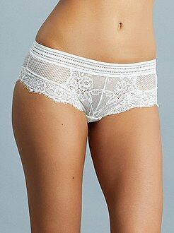 Lingerie du S au XXL Shorty dentelle
