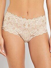 Shorty dentelle \'Sans Complexe\'