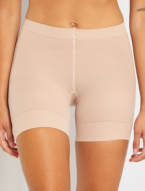 Shorty Diam's Action minceur 'DIM'                                         beige