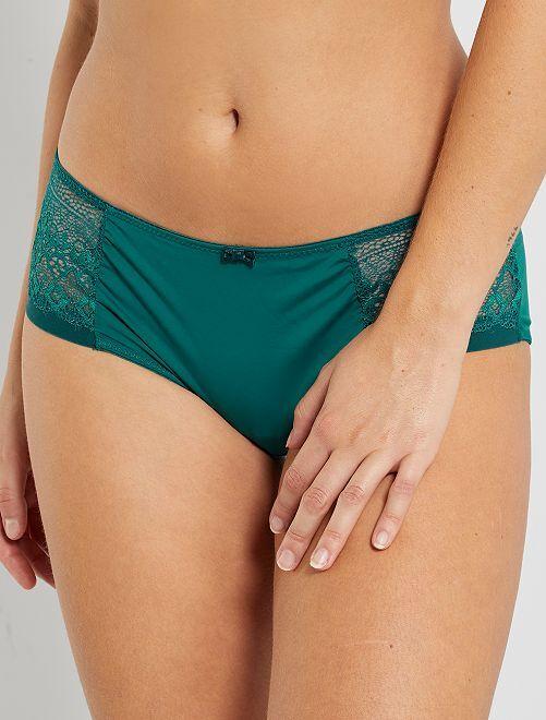 Shorty 'Envie de Lingerie'                             vert