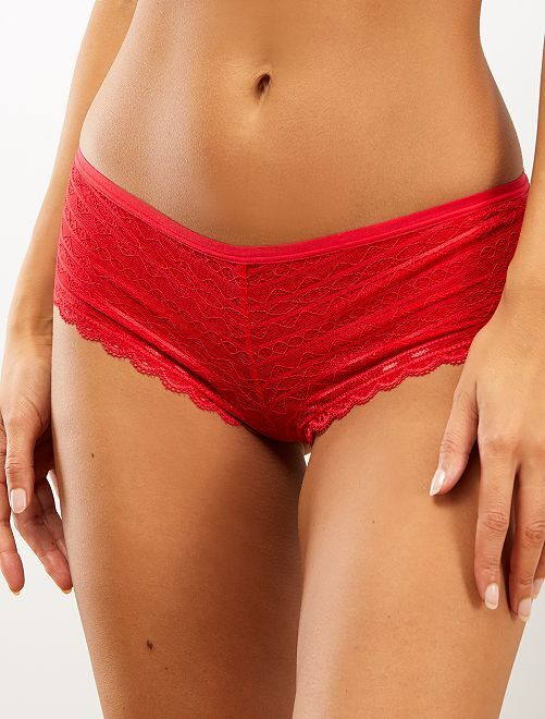 Shorty 'Mojito Lingerie'                             rouge