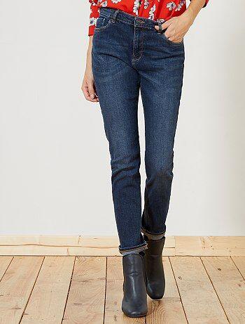 Femme du 34 au 48 - Slim slim taille haute longueur US28 - Kiabi