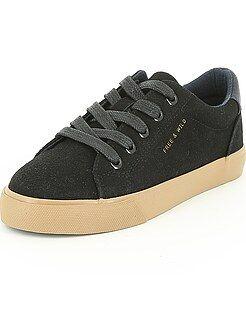 Chaussures, chaussons - Sneakers en suédine