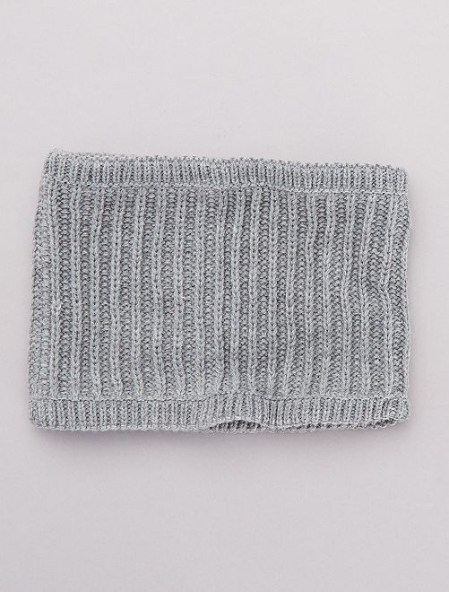 Snood doublure polaire                                                     gris