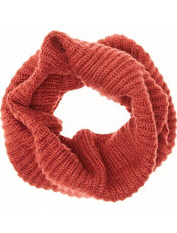 Grande taille femme - Snood maille tricot - Kiabi