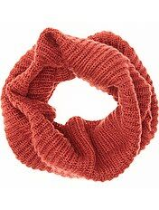 Snood maille tricot