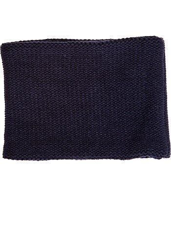 5eb8bf4dd6f Garçon 3-12 ans - Snood point mousse uni - Kiabi