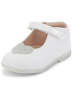 Chaussures fille - Souliers en simili verni - Kiabi