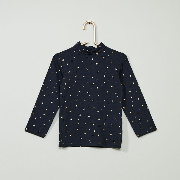 good looking wholesale sales various design Sous-pull coton bio 'éco-conception' Bébé fille - marine ...