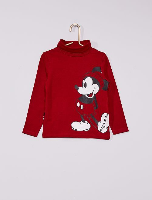 Sous-pull 'disney' recto-verso                                         ROUGE