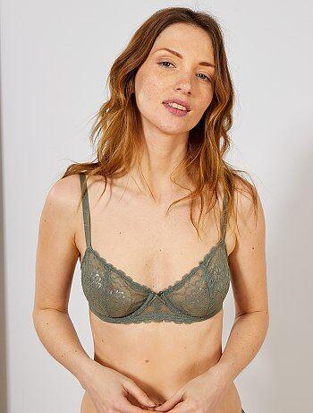 c82c0354fa7bb Soldes lingerie femme, sous-vêtements femme à petit prix   Kiabi