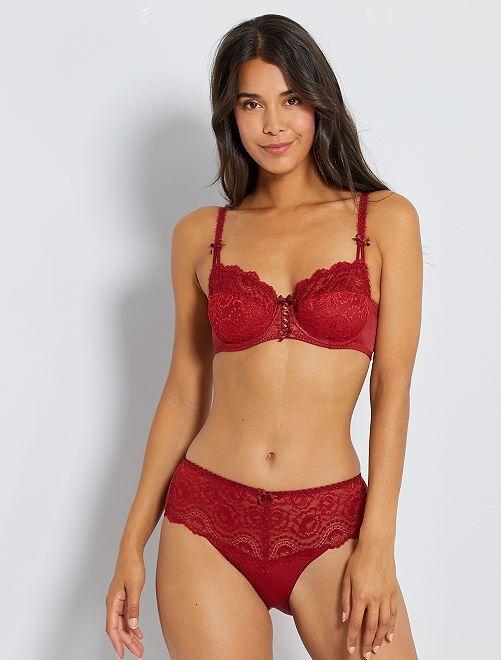 Soutien-gorge Flower Elegance 'Playtex'                                                     rouge