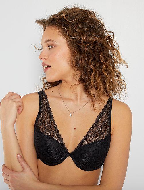 Soutien-gorge foulard ampliforme                                                                                                                             noir