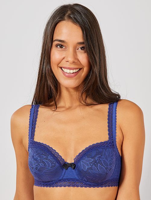 Soutien-gorge Invisible Elegance 'Playtex'                                         bleu marine