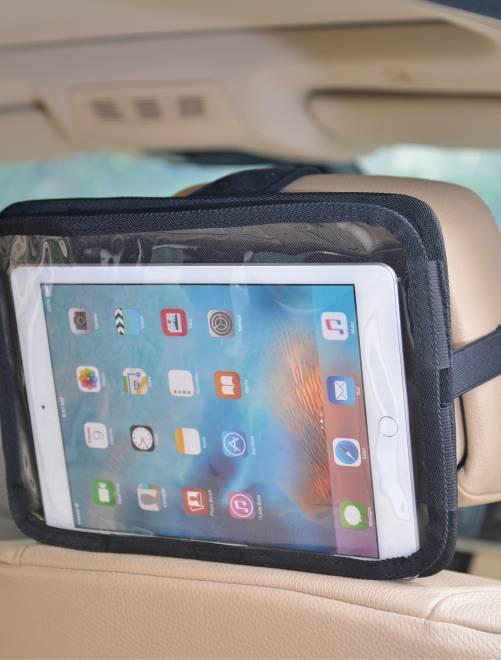 Support de tablette pour appui-tête de voiture                             noir