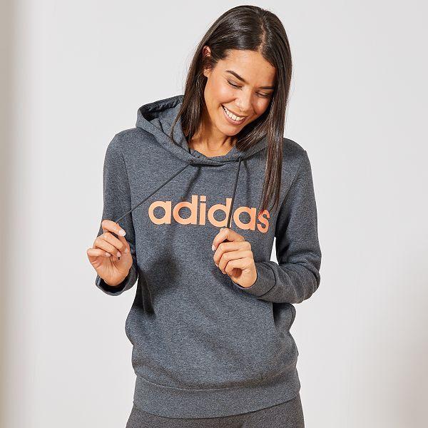 Sweats a capuche Adidas Femmes Confortable Et A La Mode