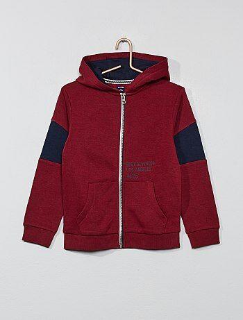 8870f9f8a9bfb Sweat Vêtements garçon   rouge   Kiabi
