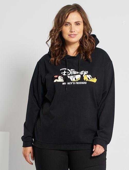 Sweat à capuche 'Disney'                                                                     NOIR