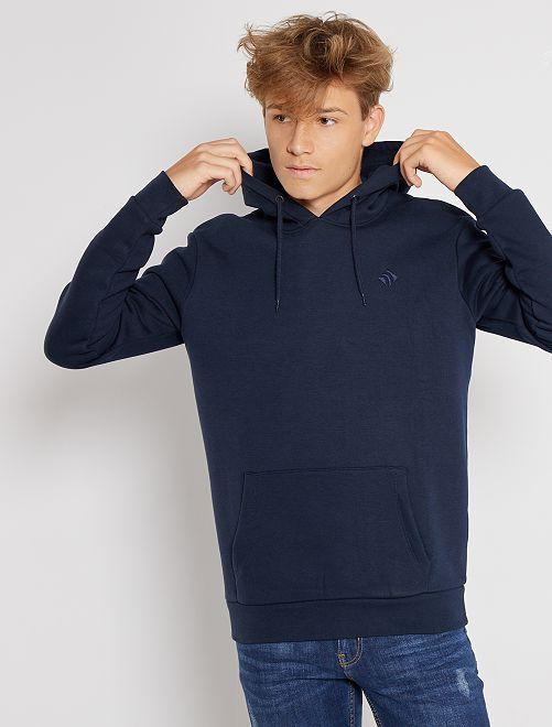 Sweat à capuche éco-conçu                                                                             bleu