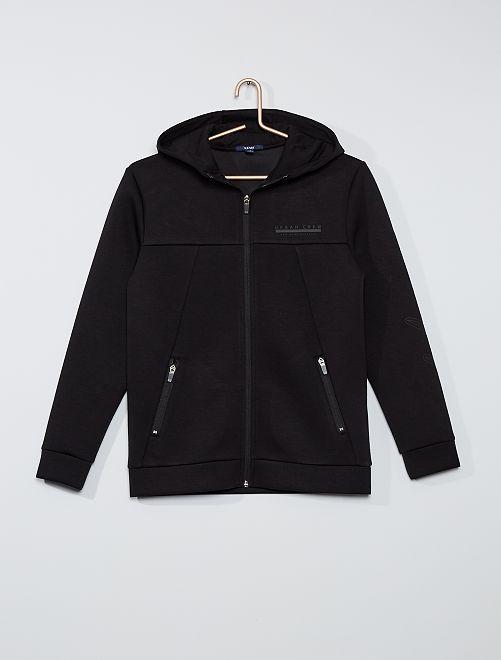 Sweat à capuche éco-conçu                     noir