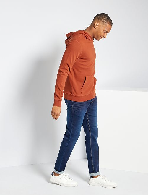 Sweat à capuche éco-conçu                                                                                                     orange