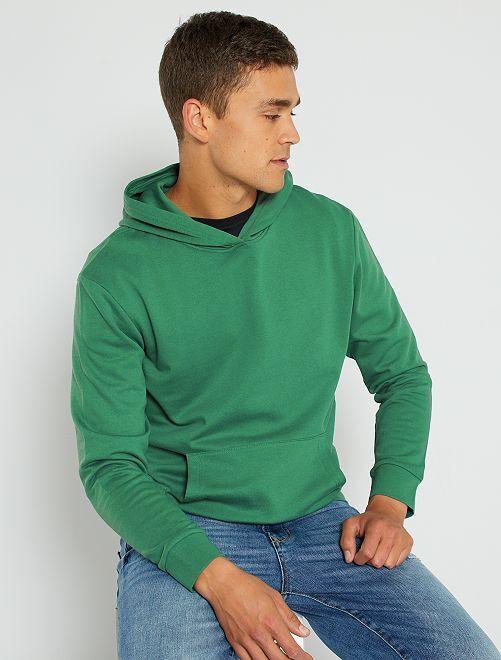 Sweat à capuche éco-conçu                                                                                                     vert